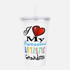 Awesome Grandson Acrylic Double-Wall Tumbler