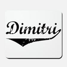 Dimitri Vintage (Black) Mousepad