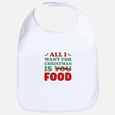 Christmas Food Bib