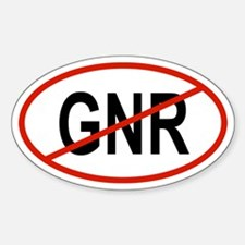 GNR Oval Decal