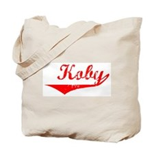 Koby Vintage (Red) Tote Bag