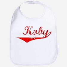 Koby Vintage (Red) Bib