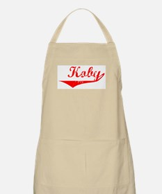 Koby Vintage (Red) BBQ Apron