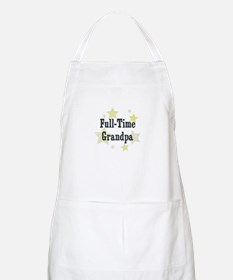 Full-Time Grandpa BBQ Apron