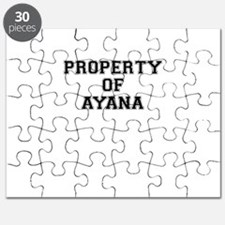 Property of AYANA Puzzle