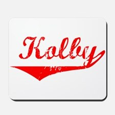 Kolby Vintage (Red) Mousepad