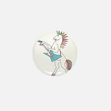 Punk Rock Unicorn Mini Button (10 pack)