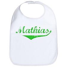 Mathias Vintage (Green) Bib