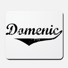 Domenic Vintage (Black) Mousepad