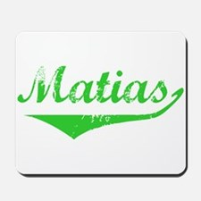 Matias Vintage (Green) Mousepad