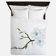 Blooming Twig Queen Duvet