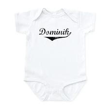 Dominik Vintage (Black) Infant Bodysuit