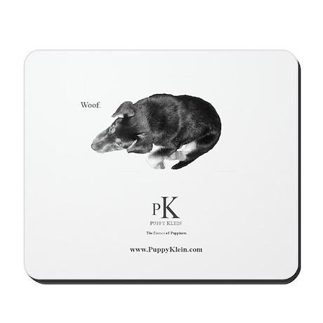 "PK ""Woof."" Mousepad"