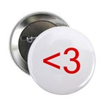 """<3 2.25"""" Button (10 pack)"""