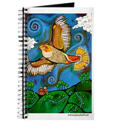 Marcy Hall's Hawk Totem Journal