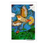 Marcy Hall's Hawk Totem Postcards (Package of 8)