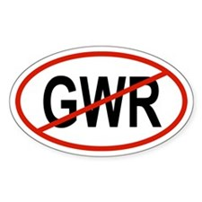 3-GWR Oval Decal
