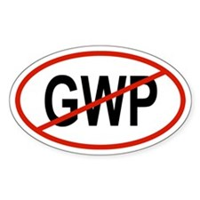 3-GWP Oval Decal