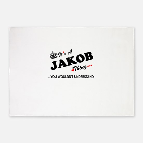 JAKOB thing, you wouldn't understan 5'x7'Area Rug