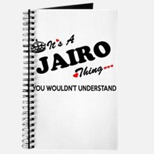 JAIRO thing, you wouldn't understand Journal