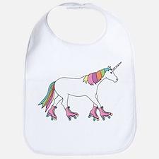 Unicorn Rollerskating Bib