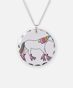 Unicorn Rollerskating Necklace