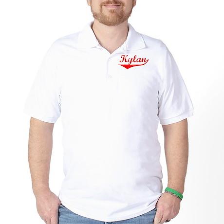 Kylan Vintage (Red) Golf Shirt