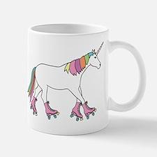 Unicorn Rollerskating Mugs