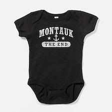 Montauk The End Baby Bodysuit
