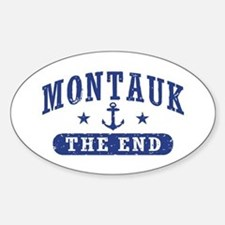 Montauk The End Bumper Stickers
