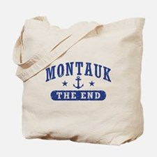 Montauk The End Tote Bag