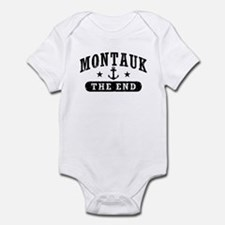 Montauk The End Infant Bodysuit