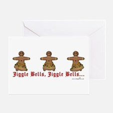 JiggleBellBellDancers Greeting Card