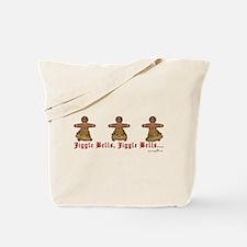 JiggleBellBellDancers Tote Bag