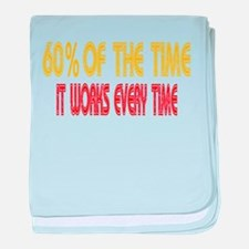 Anchorman Quote baby blanket