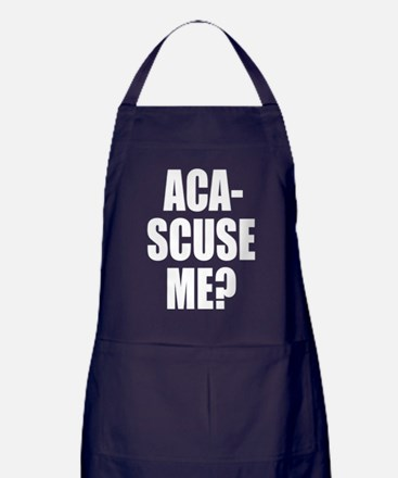 Cute Funny pitch perfect lines Apron (dark)