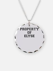 Property of ELYSE Necklace