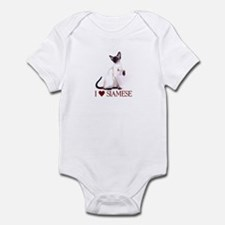 I love Siamese Infant Bodysuit