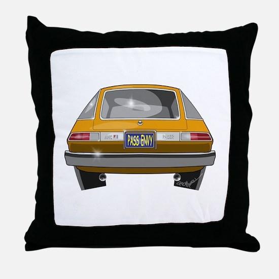 1979 Pacer Throw Pillow