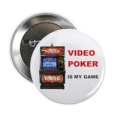 "VIDEO POKER 2.25"" Button"