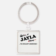 JAYLA thing, you wouldn't understand Keychains