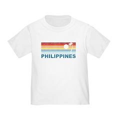 Retro Philippines Palm Tree T