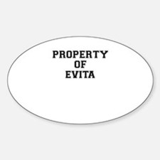 Property of EVITA Decal