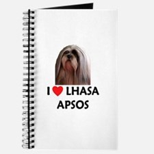 I Love Lhasa Apsos Journal