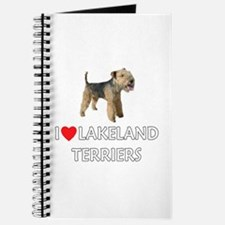 I Love Lakeland Terriers Journal