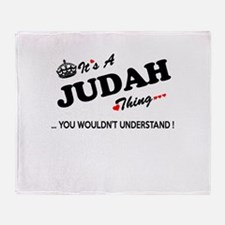 JUDAH thing, you wouldn't understand Throw Blanket