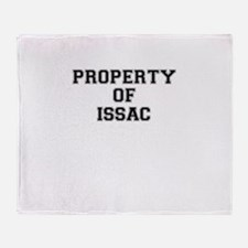 Property of ISSAC Throw Blanket