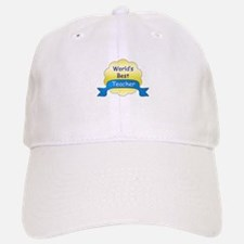 World's Best Teacher Baseball Baseball Cap