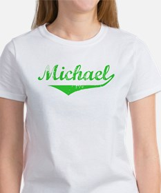 Michael Vintage (Green) Women's T-Shirt
