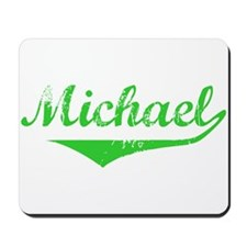 Michael Vintage (Green) Mousepad